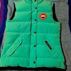 Canada Goose Turquoise Vest